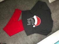 Maternity Christmas PJ's size 10
