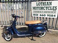 New Lexmoto Milano 125cc Learner Legal Scooter - 2yr Parts Warranty - Finance Available