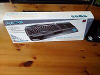 BNIB MAD CATZ Strike TE Gamer Mechanical Keyboard with Brown switches (NOT cherry, corsair)