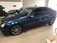 Mercedes C220 Coupe