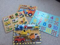 Wooden baby/toddler jigsaws