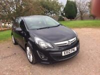 2012 VAUXHALL CORSA FACE LIFT 17.CDTI ECO FLEX 16v SRI DIESEL 5 DOOR HATCH BACK
