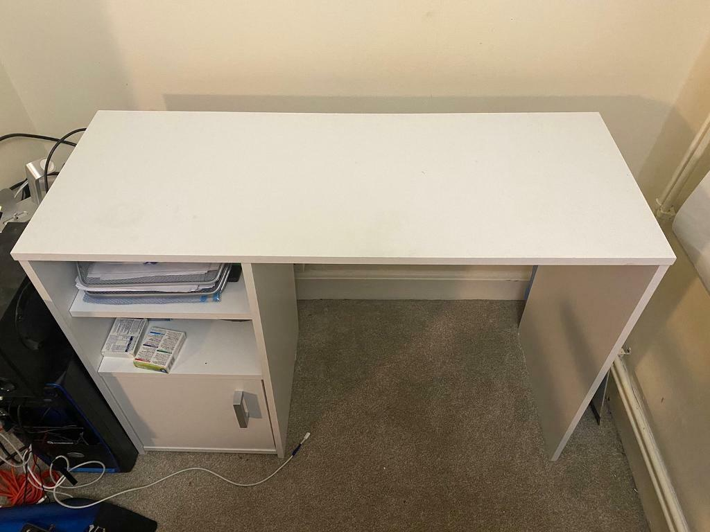 Asap Desk Argos White With Drawer And Shelf In Mile End London Gumtree