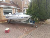Fletcher 14ft speedboat