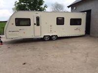 Refurbished 2006 6 Berth Avondale Argente 660-6 Touring caravan