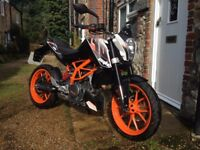 KTM 390 DUKE Exciting fun single cylinder bike