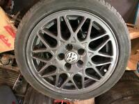 Volkswagen Polo GTi BBS alloys set of 4**can post**