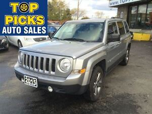 2015 Jeep Patriot HIGH ALTITUDE, LEATHER, SUNROOF, 4X4, AND MORE