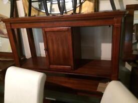 Beautiful mahogany hall table
