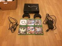Xbox one (with six games and two controllers)