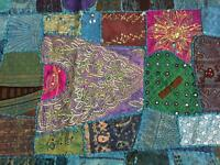 Beautiful Indian style patchwork for wall display