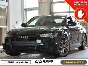 2017 Audi S6 S6 Quattro Black-Edition Sunroof GPS Cuir Bluetoot