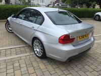 2008 BMW 320D ED2008 BMW 320D M SPORT 177 BHP 6 SPEED NAVIGATION-SYSTEM.