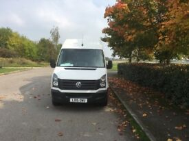 VOLKSWAGEN CRAFTER 2.0 TDI CR35 High Roof Van 4dr (MWB) (white) 2015