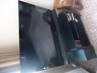 Samsung TV plus Sound Bar and corner unit