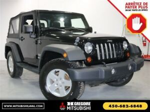 2013 Jeep Wrangler Sport 4X4 Uconnect V6 Fogs+Mags