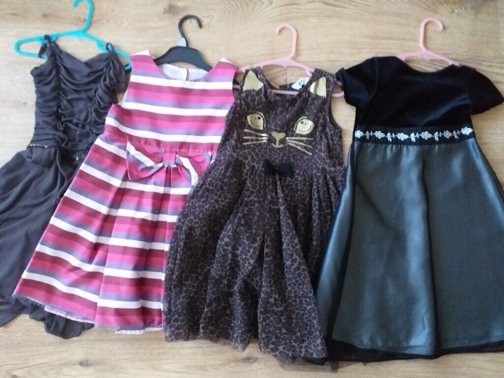 305e17ace 8 Designer Kids Party Dresses, Bundle of 8 from Next, Zara..etc, for age  size 5 to 7 years old