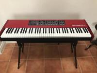 Nord Piano 2 HP weighted keys 73 key hammer action with case and stand