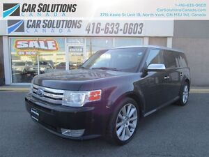 2010 Ford Flex Limited-Navi-AWD-Leather
