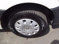 Vw transporter t4 expert dispatch renault master movano 16 inch wheels with nearly new tyres