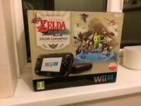 WiiU (Special Wind Waker Edition) plus 4 WiiU games and 7 Wii games
