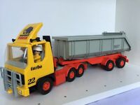 Playmobile Vintage Mammut Power Construction Tipper Truck Lorry