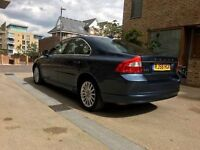 2008│Volvo S80 2.4 D5 SE Geartronic 4dr│SAT NAV │LEATHER SEATS│FOLDING MIRRORS
