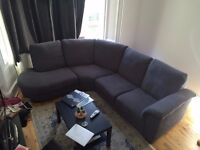 Brand New Grey Corner Sofa