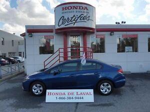 2013 Honda Civic LX 21,145 KM