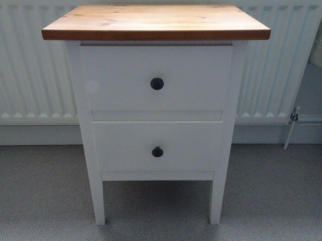 Ikea Hemnes Bedside Table In Lightwater Surrey Gumtree