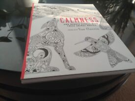Colour Yourself to CALMNESS Original Art By Sue Coccia. New. Collection only