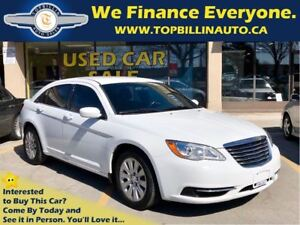 2013 Chrysler 200 LX Auto, Only 70K kms, 2 Years Warranty