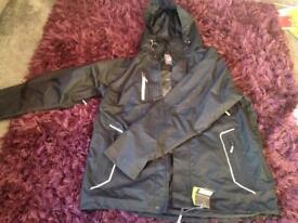 Trojan waterproof jacket brand new with tags size large