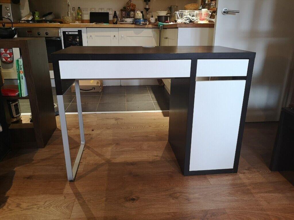 Ikea Micke Desk Black And White Used Condition In Whitechapel London Gumtree