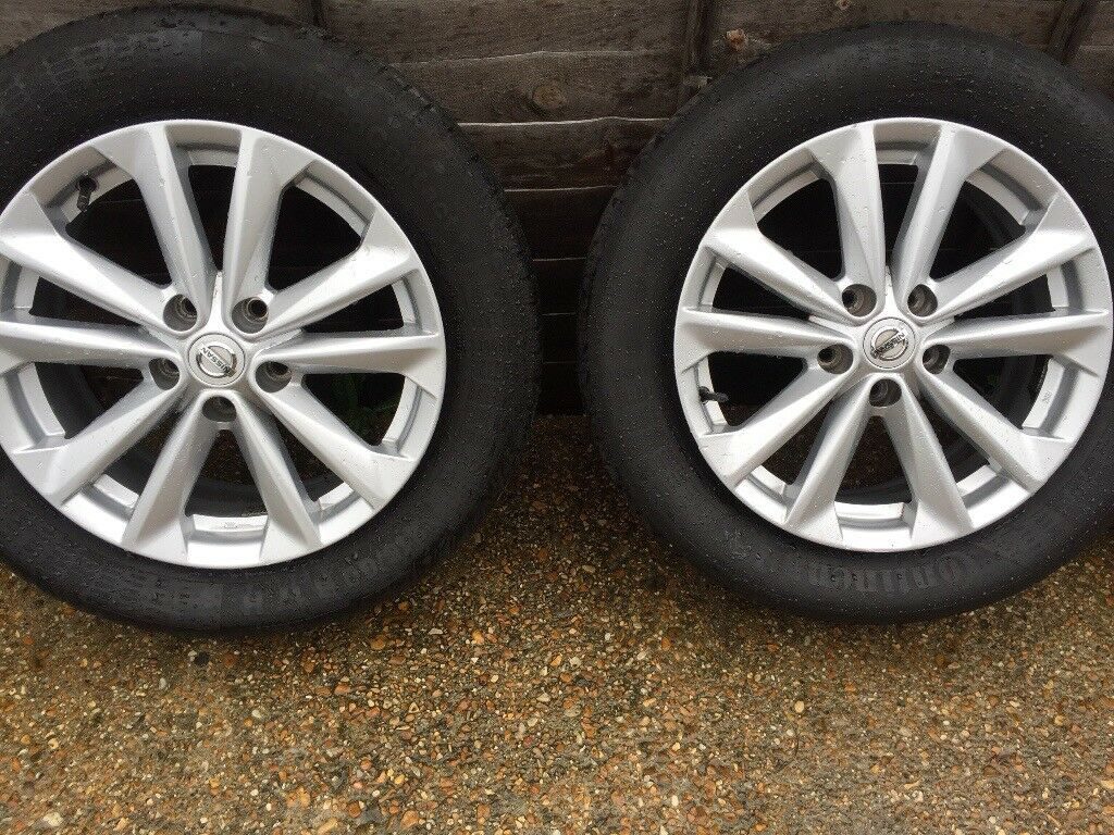 "Nissan Qashqai J11 genuine 17"" alloy wheels"