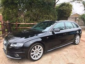 Audi A4 Avant 2.0 TFSI S-Line - newly rebuilt engine with 2 year warranty