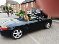 Beautiful Classic Porsche Boxster for sale in immaculate condition with soft leather interior