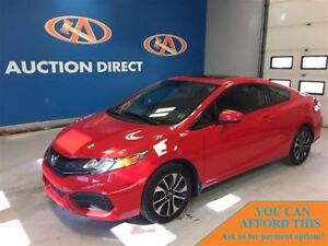 2015 Honda Civic EX COUPE! SUNROOF! NEW TIRES! FINANCE NOW!