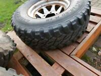 4x4 wheels and tyres