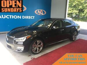 2015 Infiniti Q70L 5.6 Q70L AWD! LEATHER! SUNROOF! UNDER 15000KM