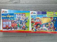 Twin pack of large floor puzzles