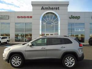 2016 Jeep Cherokee LIMITED 4X4 NEW VEHICLE/FULL FACTORY WARRANTY