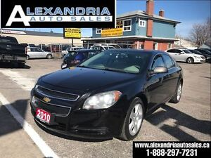 2010 Chevrolet Malibu LS safety includes