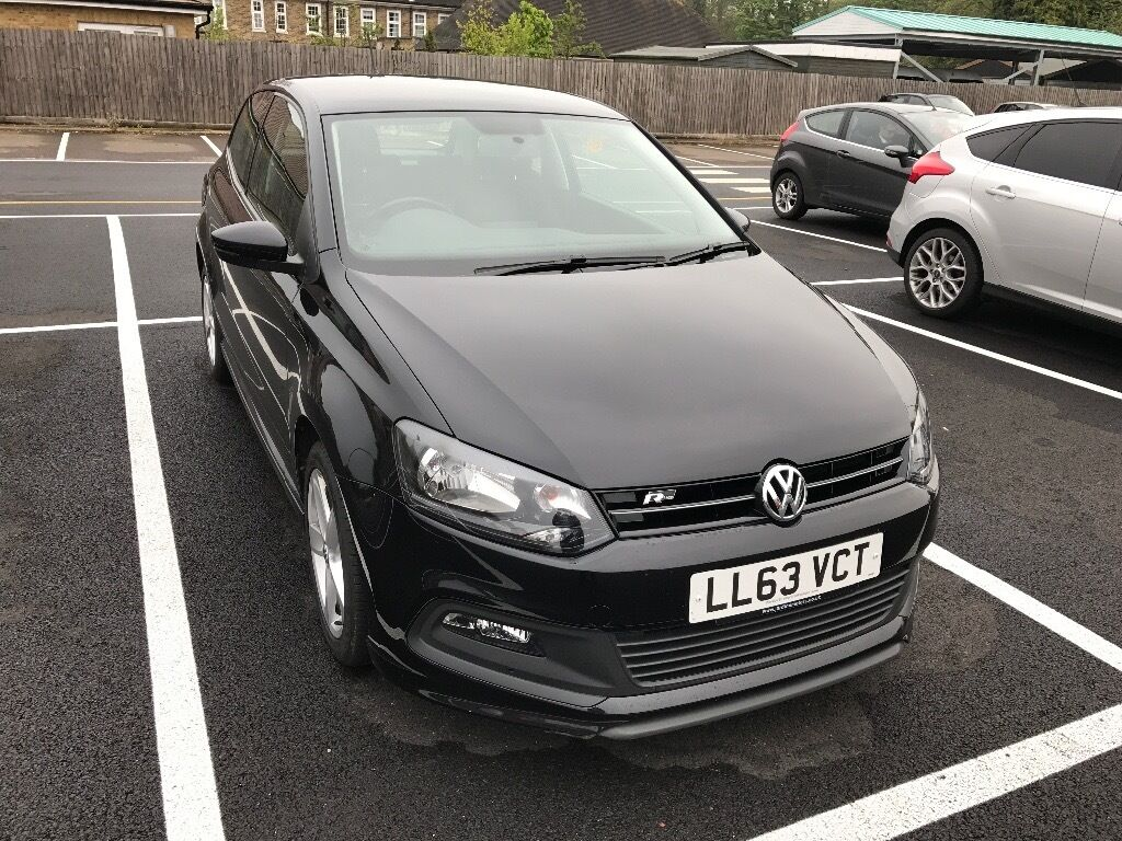 vw polo r line 63 plate in cheshunt hertfordshire gumtree. Black Bedroom Furniture Sets. Home Design Ideas