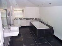 "ENGLISH A-Z handy""TRADESMAN"" 45+ years experience Elec Plumb Kitchen Bathroom Plastering tiling etc"