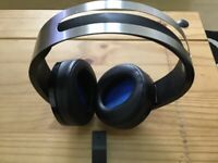 Sony PlayStation 4 Platinum Wireless Headset Works with PS5 aswell