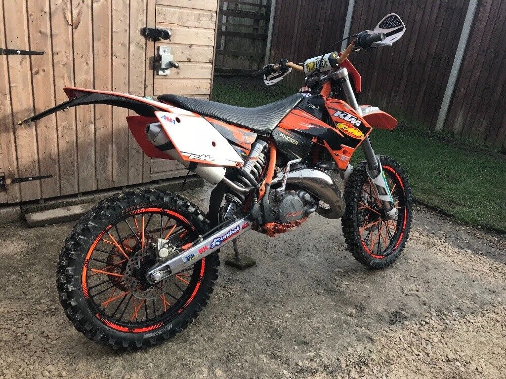 ktm 125 sx road legal not 150 250 350 450 exc xc yz kx rm yz sxf excf enduro gas gas in. Black Bedroom Furniture Sets. Home Design Ideas