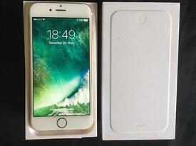 iPhone 6 Unlocked Gold 64GB Very good condition