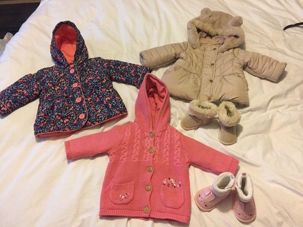 61cb1aa23b82 Baby girls Winter coats