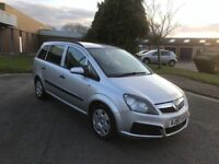2006 Vauxhall Zafira 2.2 auto 7 seater 12 months mot/3 months parts and labour warranty